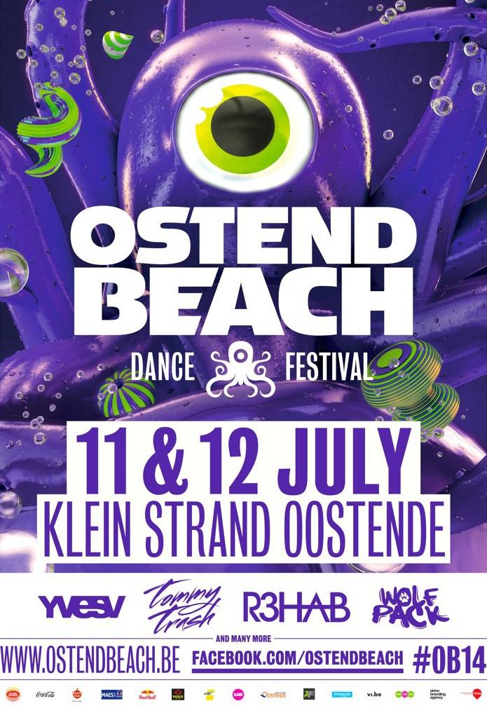 Ostend Beach 2014