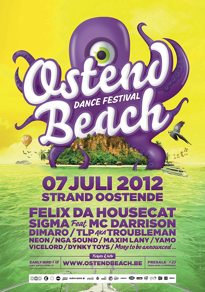 Ostend Beach 2012