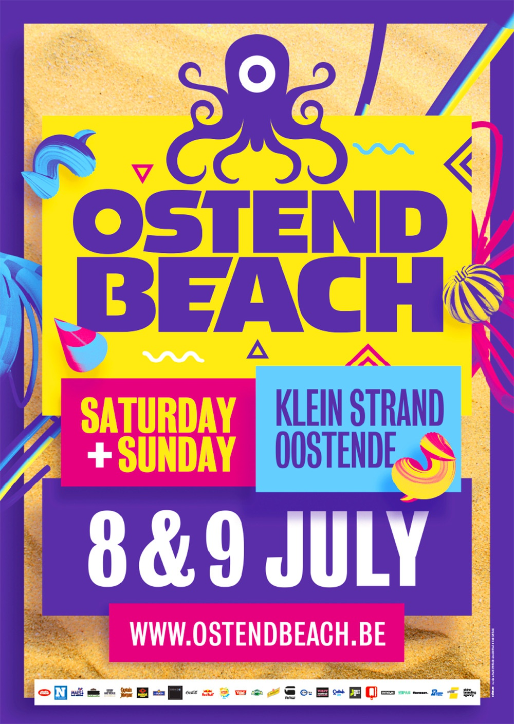 Ostend Beach 2017